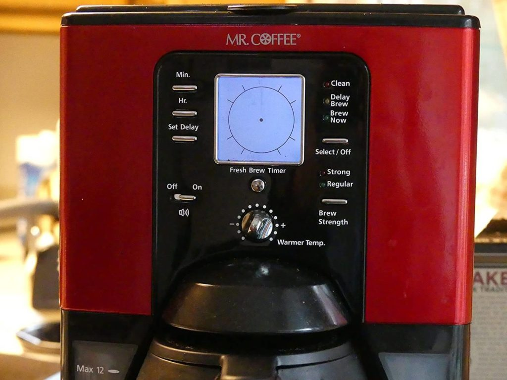 Mr Coffee Programmable 12-Cup Coffee Maker
