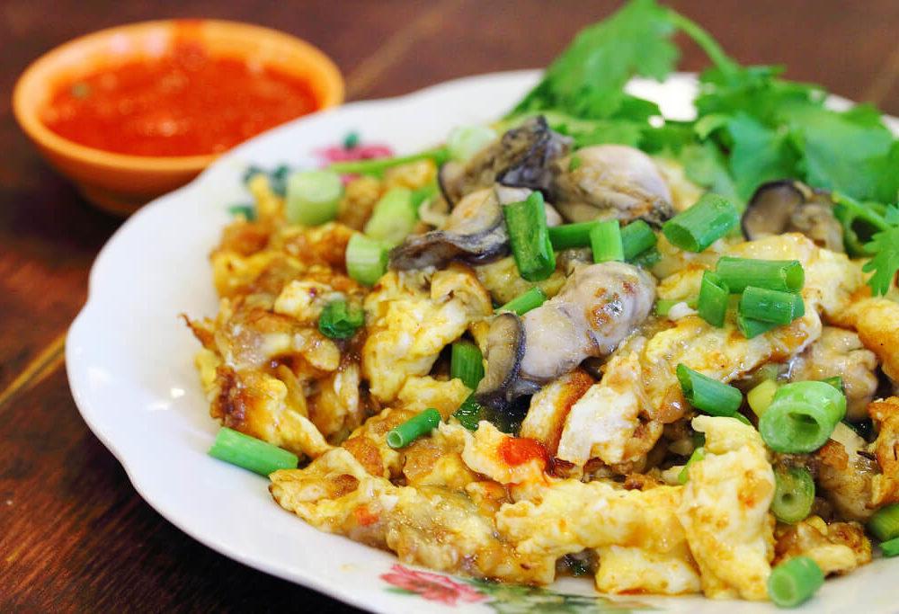Oyster Thai Omelet